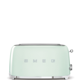 Smeg outlet broodrooster TSF02PGEU 2x4 pastel groen