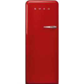 Smeg retro koelkast FAB28LRD3 linksdraaiend rood