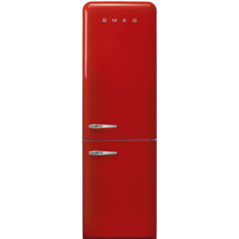 Smeg retro koelkast FAB32RRD3 rechtsdraaiend rood