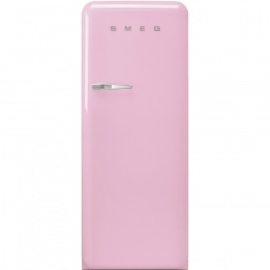 Smeg retro koelkast FAB28RPK3 rechtsdraaiend roze