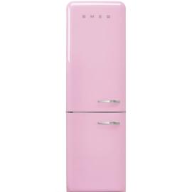 Smeg retro koelkast FAB32LPK3 linksdraaiend roze