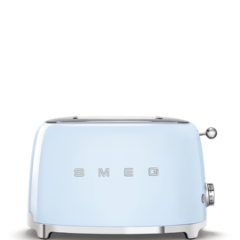 Smeg outlet broodrooster TSF01PBEU 2x2 pastelblauw