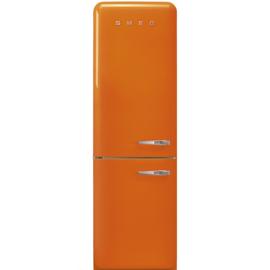 Smeg retro koelkast FAB32LOR3 linksdraaiend oranje