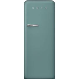 Smeg retro koelkast FAB28RDEG3 emerald green rechtsdraaiend