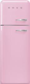 Smeg retro koelkast FAB30LPK3 linksdraaiend roze