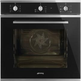 Smeg oven Selezione zwart SF64M3VN