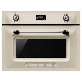 Smeg oven met magnetronfunctie SF4920MCP1 Victoria crème