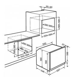 Smeg oven inbouw SFP6925NPZE
