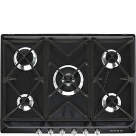Smeg kookplaat 70cm SR975NGHNLK zwart
