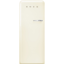 Smeg retro koelkast FAB28LCR3 linksdraaiend creme