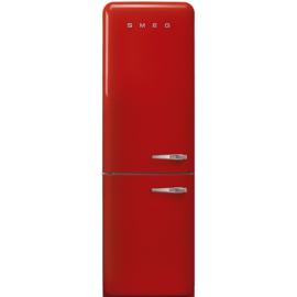 Smeg retro koelkast FAB32LRD3 linksdraaiend rood