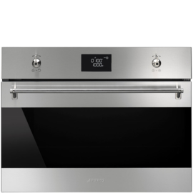 Smeg inbouw combi  oven SF4390MCX Classici rvs