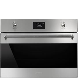 Smeg inbouw magnetron met grill SF4390MX