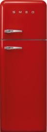 Smeg retro koelkast FAB30RRD3 rechtsdraaiend rood