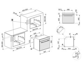 Smeg inbouw oven SF6102PZS