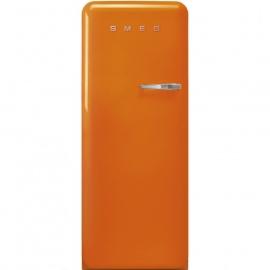 Smeg retro koelkast FAB28LOR3 linksdraaiend oranje