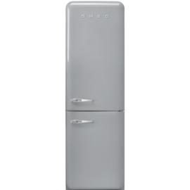 Smeg retro koelkast FAB32RSV3 rechtsdraaiend zilvermetallic