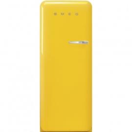 Smeg retro koelkast FAB28LYW5 linksdraaiend geel