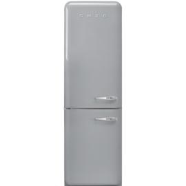 Smeg retro koelkast FAB32LSV3 linksdraaiend zilvermetallic