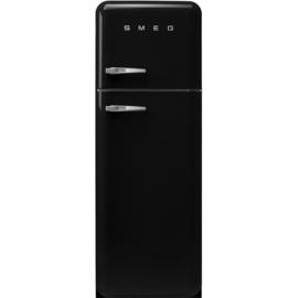 Smeg koelkast retro FAB30RBL3 rechtsdraaiend zwart