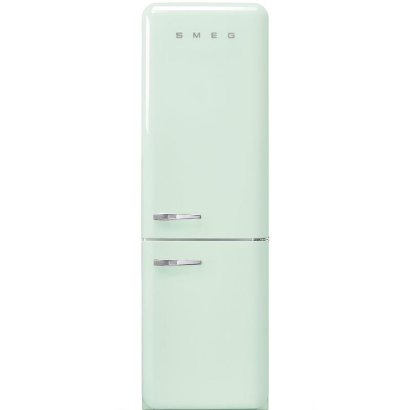 Smeg retro koelkast FAB32RPG3 rechtsdraaiend watergroen