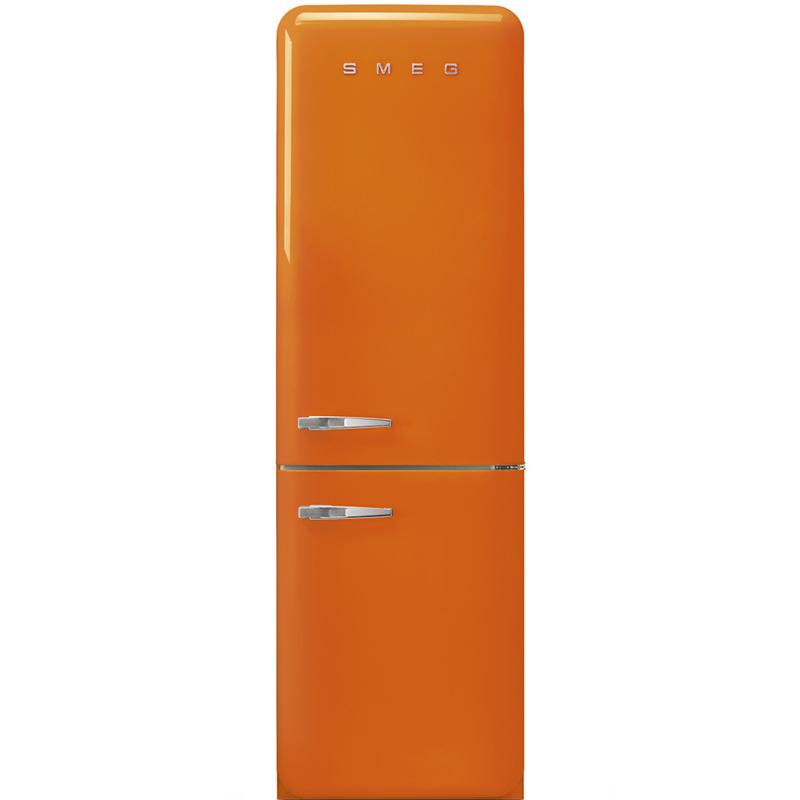 Smeg retro koelkast FAB32ROR3 rechtsdraaiend oranje