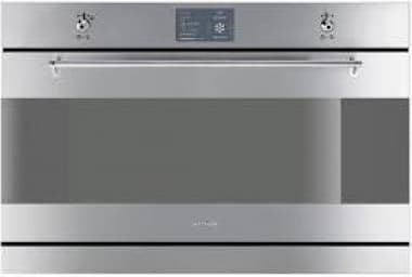 Smeg inbouw oven 90cm SFP3900X met pyrolyse