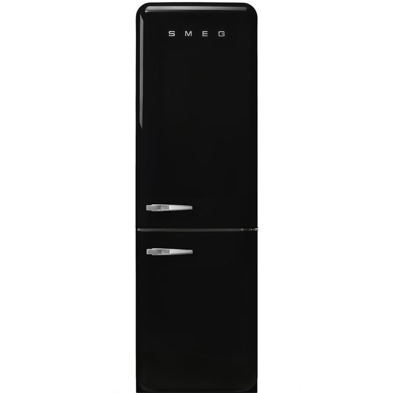 Smeg koelkast retro FAB32RBL3 rechtsdraaiend zwart