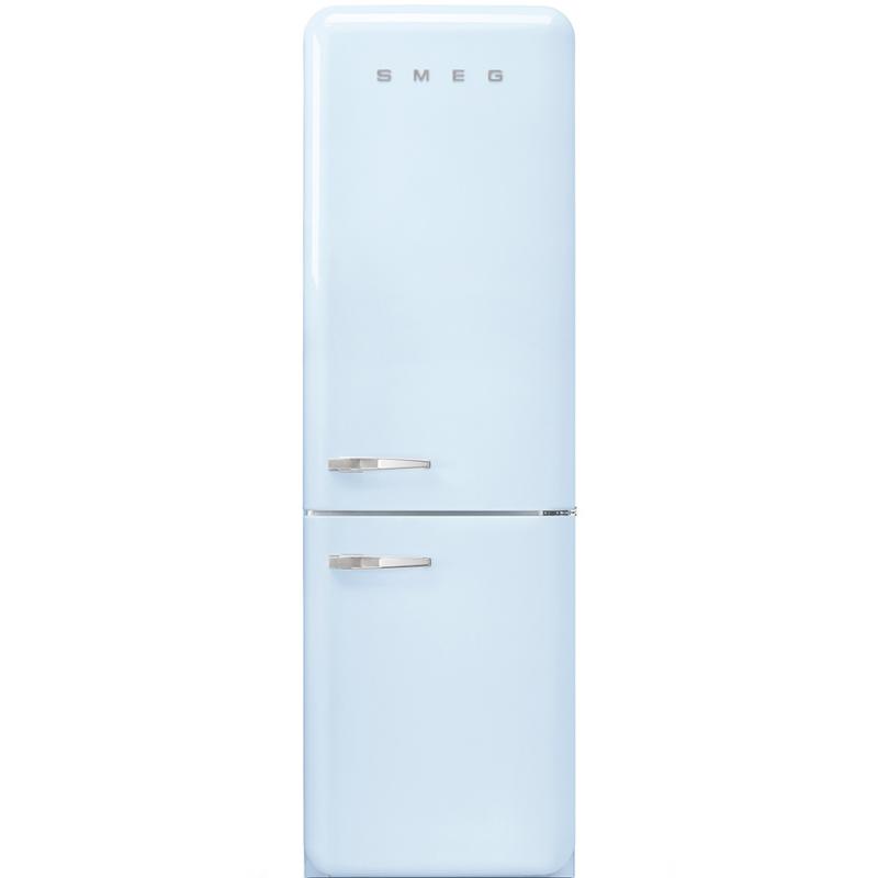 Smeg retro koelkast FAB32RPB3 rechtsdraaiend pastelblauw