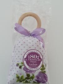 Lavendelzakje met houten ring Fleur de Lavande White Flower