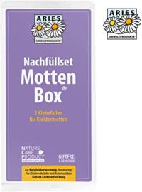 Aries Mottenbox - Navulling Kledingmot  Eco - 2 stuks