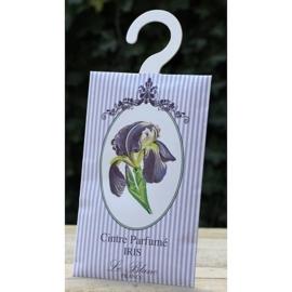 Le Blanc - Geurenvelop met kledinghaak (iris)
