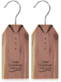 Herbapharm cederhouten hangertjes 2 stuks.