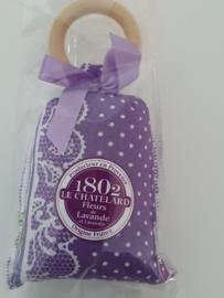 Lavendelzakje met houten ring Fleur de Lavande Provence