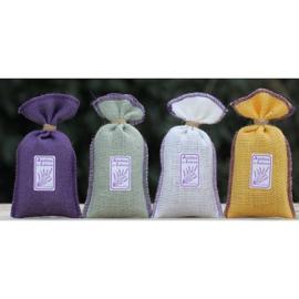Lavendelzakje jute (lila)