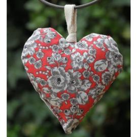 Ateliers du Luberon - Lavendelkussentje hart rood