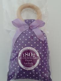 Lavendelzakje met houten ring Fleur de Lavande Strike