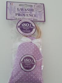 Lavendelzakje met houten ring Fleur de Lavande Lima