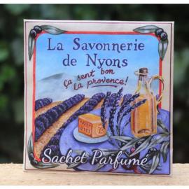 La Savonnerie de Nyons - Geurenvelop Savon Lavendel