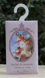 Le Blanc - Geurenvelop met kledinghaak engel (coton)