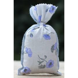 Lavendelzakje blauwe klaproos