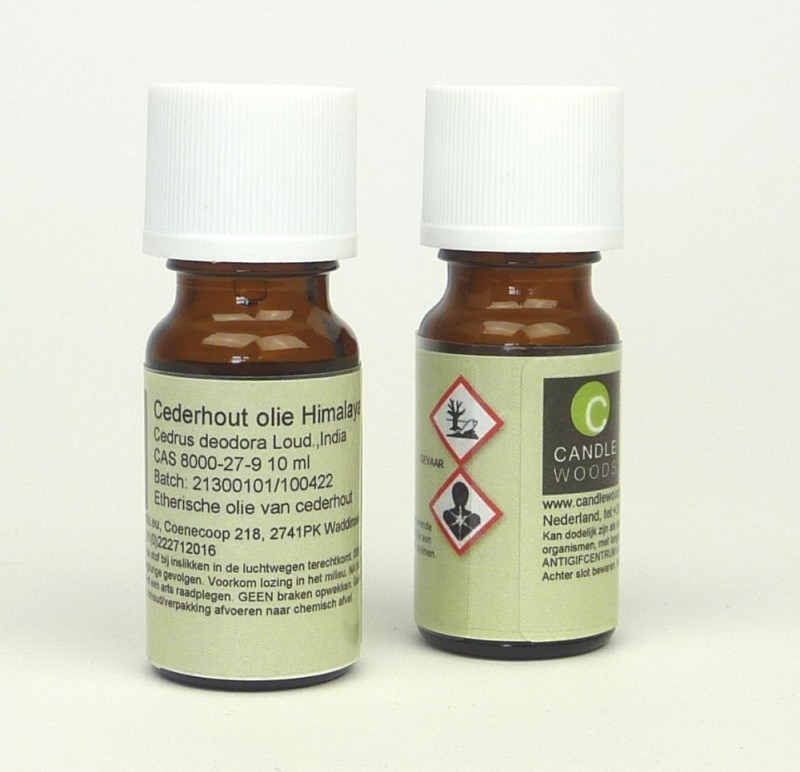 Candlewoods cederhoutolie. 20 ml.