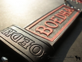 Leren hondenhalsband: The Boedha