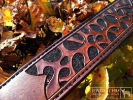 Leren hondenhalsband: The Pasha