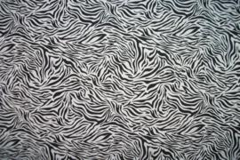 Tricot tijger zand