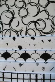 Wit/zwart (artikelnr. 2 )