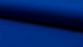 Tricot effen kobaltblauw