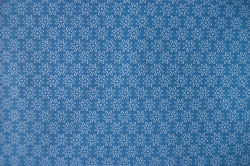 Bloemetje blauw