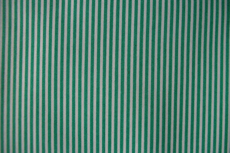 Streep groen