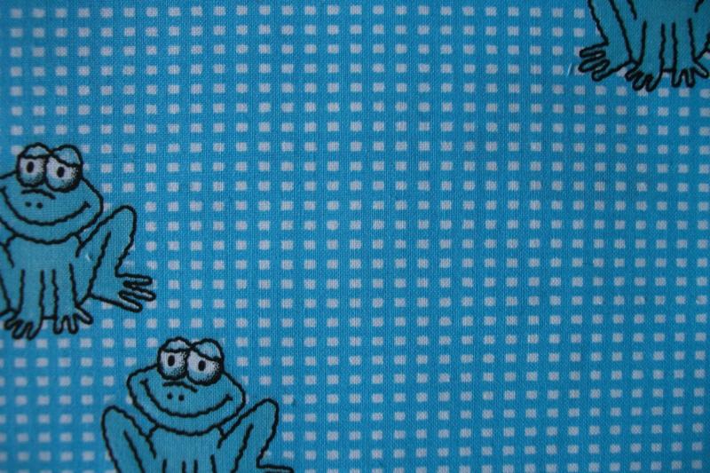 Kikkers blauw